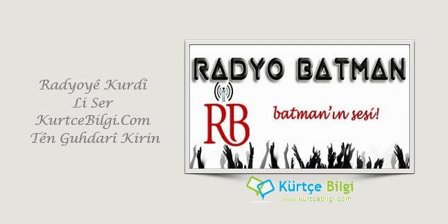 Radyo Batman Canlı Yayını